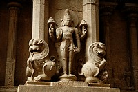 Detail of ornamentation  Sri Meenakshi Temple  Madurai, Tamil Nadu, India, Asia