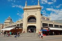 Central Market, 1930, architect: Josep Renom, Sabadell, Catalonia, Spain.
