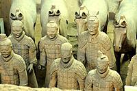 Terracotta army of Xian, China