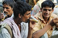 Have a break to have sweet chai on the street