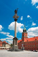 Warsaw, Castle Square, Poland, Europe