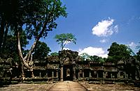 Angkor Wat is a Khmer temple complex in Angkor built for King Suryavarman II in the early 12th century. It is a UNESCO World Heritage Site.