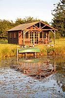 Lakes are a draw to wildlife of all kinds, birds and insects, and after often a feature of large gardens in England.