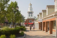 Woodbury Common Outlet Mall in the Hudson Valley town of Central Valley New York
