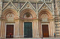 Siena, Duomo, Cathedral, Duomo Cathedral , UNESCO World Heritage Site, Tuscany, Italy.