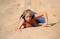 Hot sand girl
