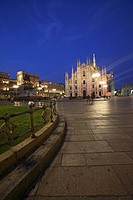 Piazza Duomo and the Cathedral, Milan, Italy