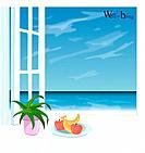 ocean, landscape, sea, scenic, scenicry, beach, nature