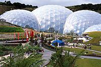 The Eden Project, Near St Austell, Cornwall, England, Great Britain