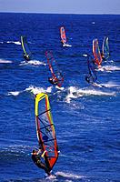 Windsurfer, Pozo Izquierdo, Gran Canaria, Canary Islands, Spain