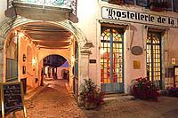 Hotel de la Poste, Avallon, Burgundy, France