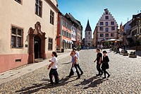 Old town hall at the market place, Endingen, Kaiserstuhl, Breisgau, Black Forest, Baden_Wuerttemberg, Germany