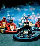 Go_Kart race