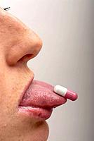 Pill on tongue 2