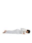 Boy practicing ashtangnamaskar asana MR779I