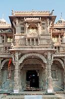 Entrance of hatheesingh shah temple , Ahmedabad , Gujarat , India
