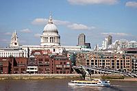 UK, United Kingdom, Great Britain, Britain, England, London, St Pauls Cathedral, St. Pauls Cathedral, St. Paul´s Cathedral, Cathedral, Church of Engla...