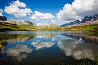 Lake Tannen, Tannensee, Switzerland, Obwalden, Melchsee_Frutt