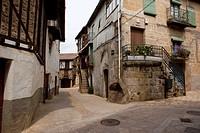 Sequeros, typical village of the Sierra de Francia, Salamanca. Castilla y Leon. Spain. Europe.