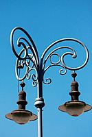 Old style street lamp in Brno