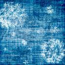 Dandelions over blue
