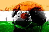 Flag of Niger soccer