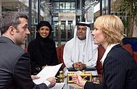 Intercultural Business Meeting