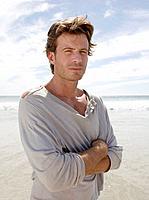 Unkempt Man on Beach