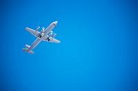 Passenger Airplane In Sky