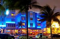 park central Hotel, south beach Miami, Florida, USA