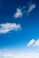 blue sky and beautiful cloud background