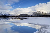 Mount Rundle and Vermillion Lakes, Banff National Park, Alberta