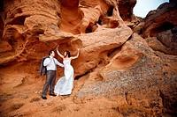 couple on the mountain