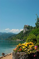 Wiew of Bled church