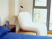 Chair in Corner of Bedroom