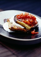 Veal escalope à la parmiggiana