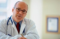 Doctor in Office