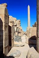Obelisk, Amun-Re temple, Karnak, Egypt