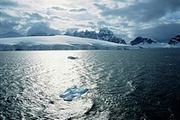 Sea in Antarctica Landscape