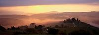 Dawn in San Quirico d´Orcia