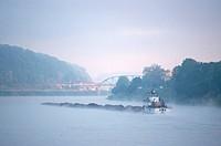 Tug Boats on the Kanawha River