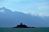 Sentinel Island in Southeastern Alaska