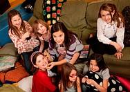 Girls Preening