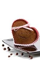 heart shape muffin