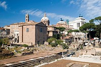Forum in Rome city