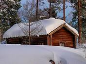 Old Finnish farm house