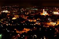 night scene Veliko Turnovo