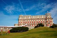 Hotel du Palais, Biarritz, Aquitaine, Basque Country, Pyrenees Atlantiques, 64, France.