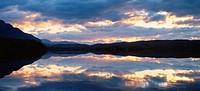 Vassejaure Lappland Sweden.