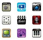 Recreational Icon set